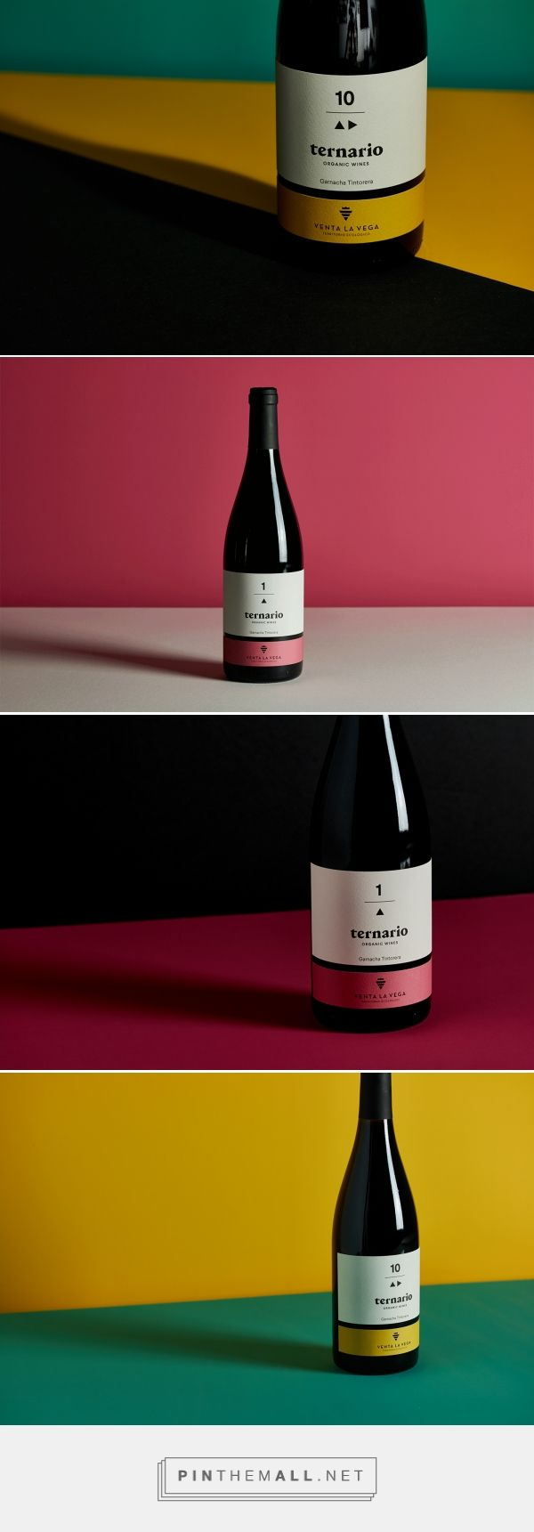 Ternario Wines On Behance Designed By Alex Monzo Wines Wine Design Wine Bottle