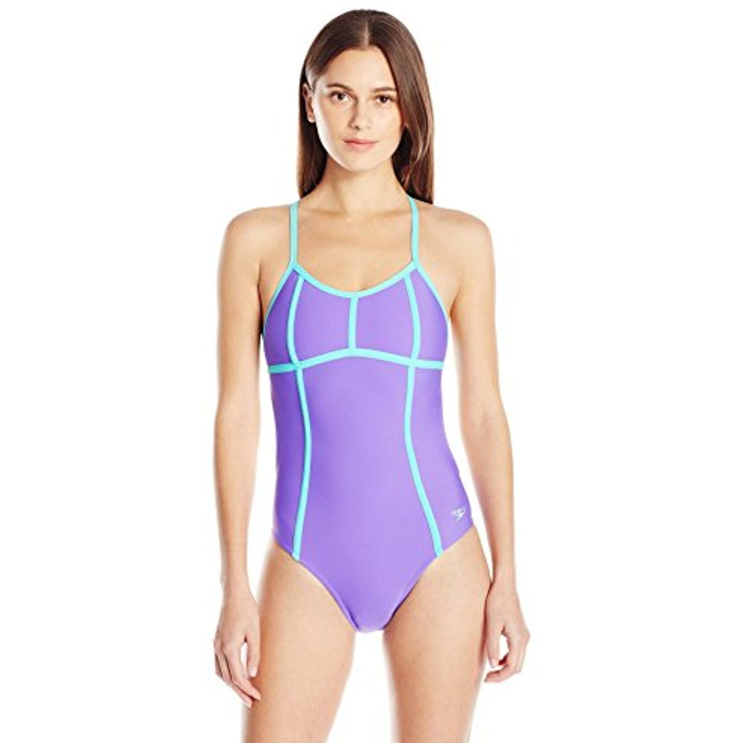 1f34f7b0f3 Speedo Women s Missy Franklin Signature Collection Endurance Lite Color  Block Tie Back One Piece Swimsuit     Check out this great product.