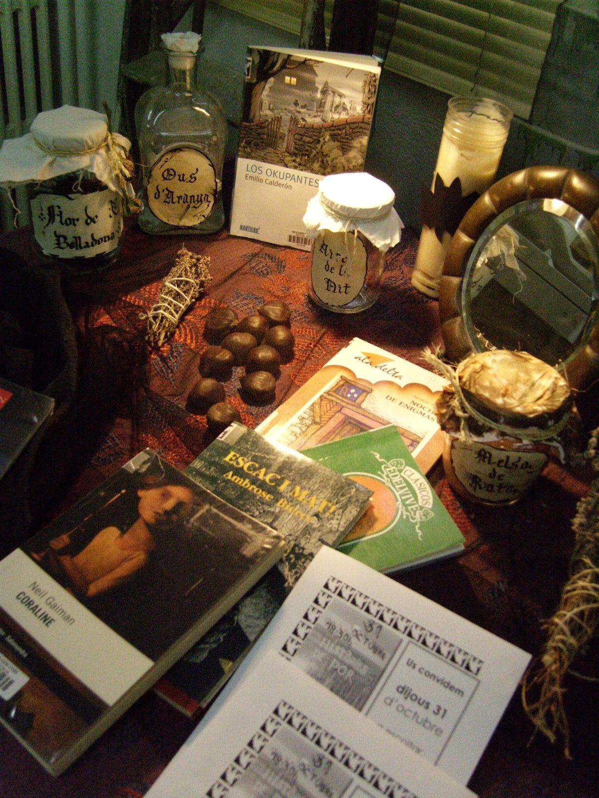 Històries de por · octubre 2013 · Library Display @BiblioEugeni
