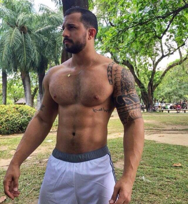 Hairy latin men
