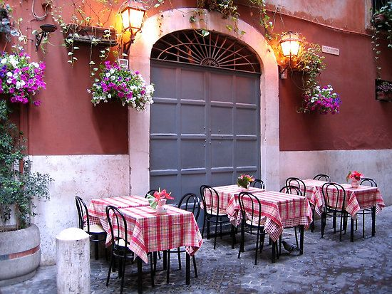 Backstreet Restaurant Rome Italy So Simple Can T Wait To Sit Outside And Dine In Rome Rome Italy Trip Planning Italy