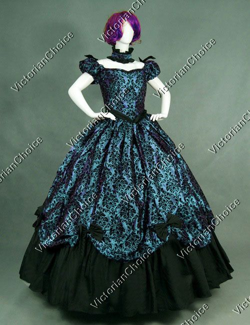 High Quality Southern Belle Old West Victorian Dress Period Outfit Ball Gown… #dressesfromthesouthernbelleera