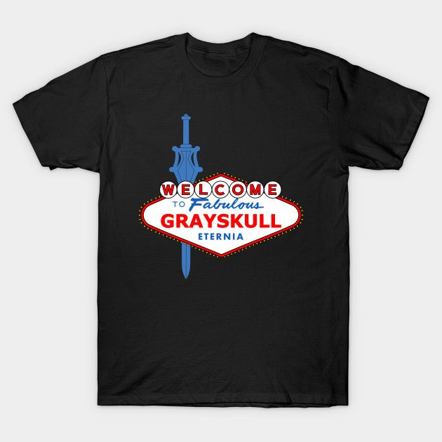 Viva Grayskull Masters of the Universe T-Shirt - The Shirt List