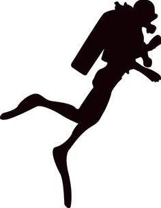 image result for diver silhouette silhouette pinterest clip art rh pinterest com diver clipart free diver clipart black and white