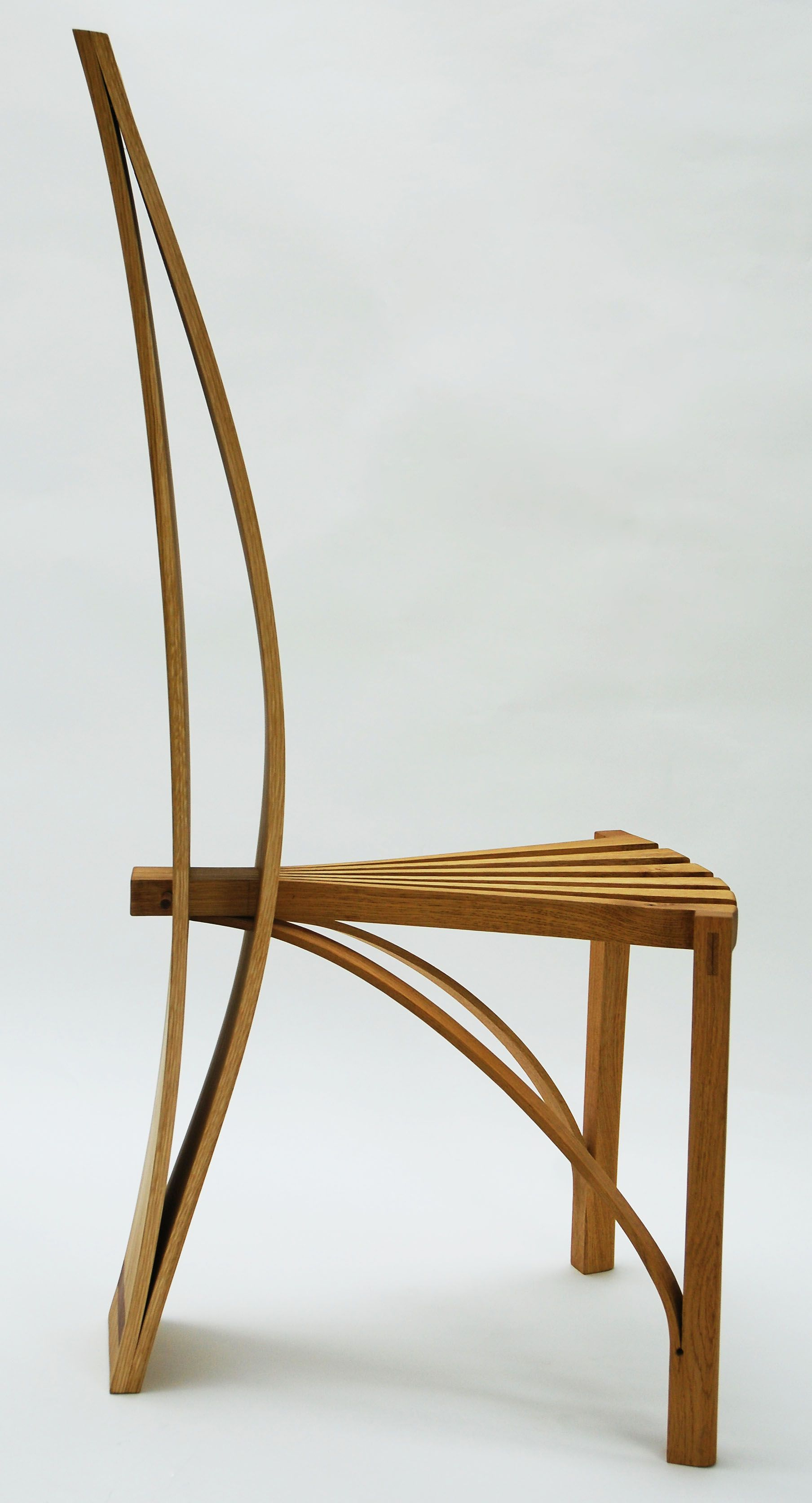 Dining Chair in solid oak by James Otter, BA 3D Design at Plymouth ...