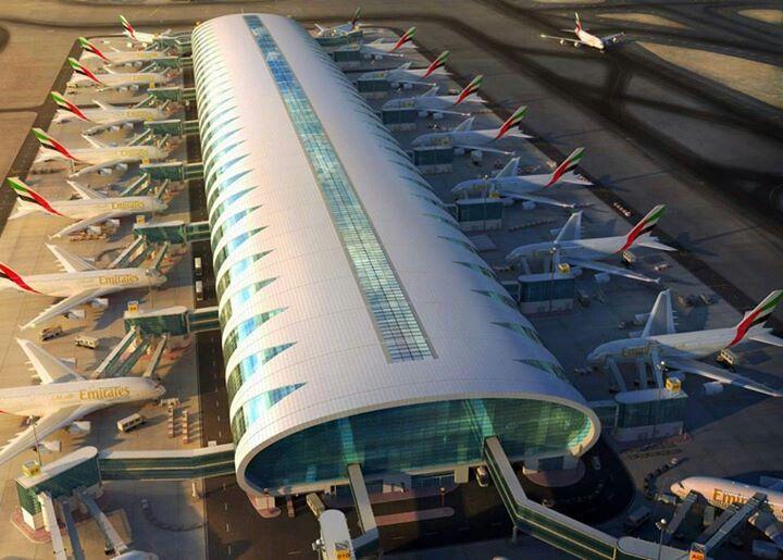 аэропорт дубай терминал 3
