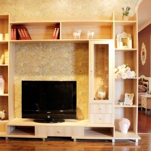 Corner Showcase Designs For Living Room Pleasing Corner Tv Stand With Showcase Designs For Living Room  Http Design Decoration