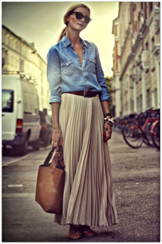online store 08f14 3cfea Come indossare la gonna plissé? Miniguida super facile alla ...
