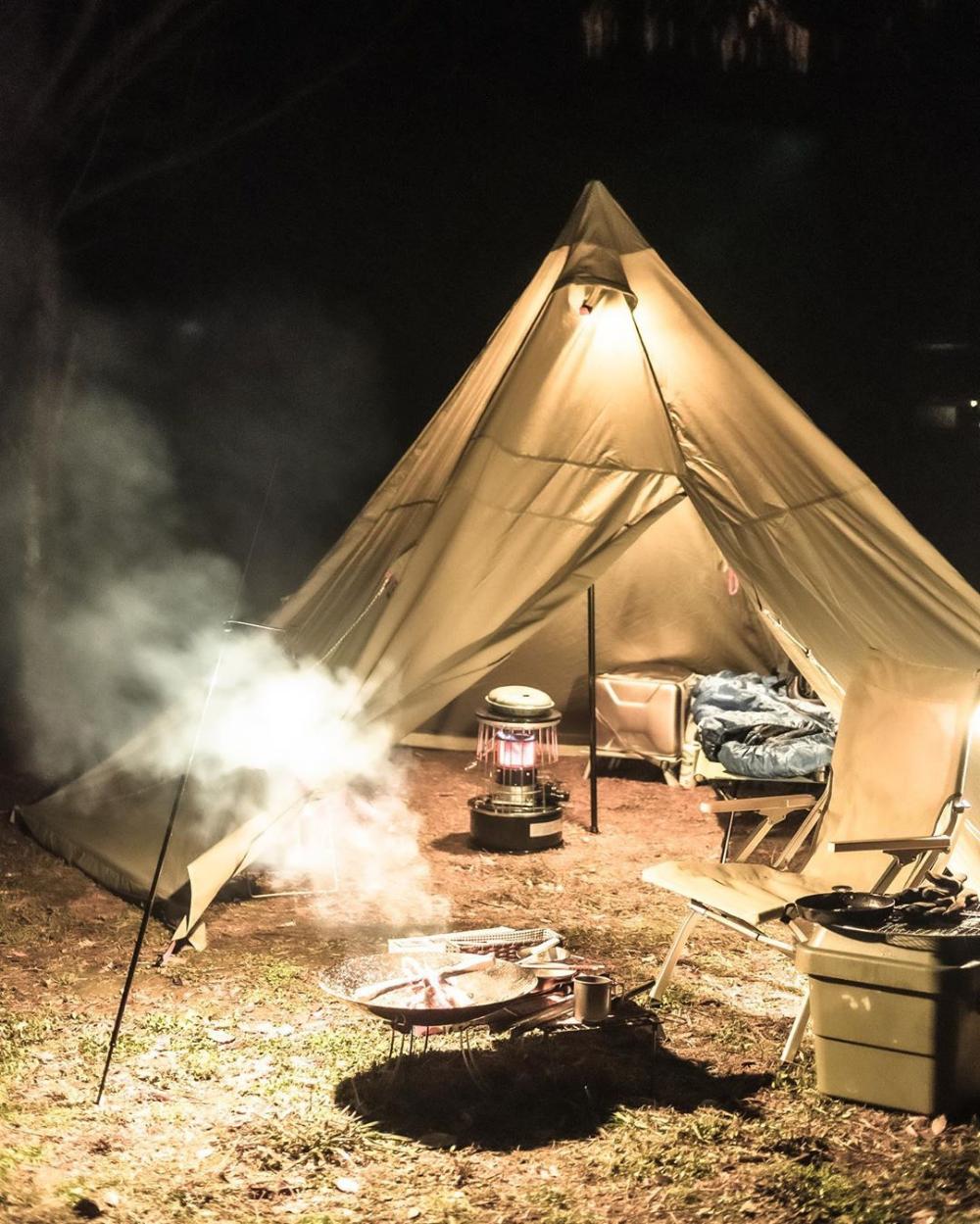 ワンポールテント テント フィールドドア 2020 テント ソロキャンプ ペグ