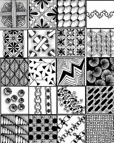 Simple Zentangle Patterns | Quote | zentangle patterns in