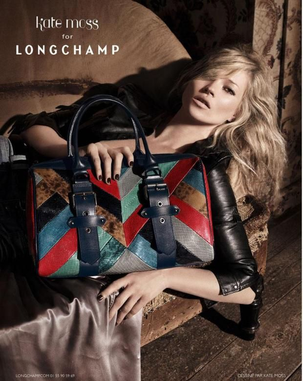 kate moss for longchamp fall 2010 ad | Kate moss, Longchamp, Kate