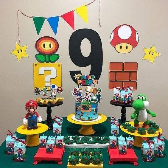 Pin By Maartje Van Der Bilt On Globo Mario Bros Party Super Mario Bros Party Mario Bros Birthday