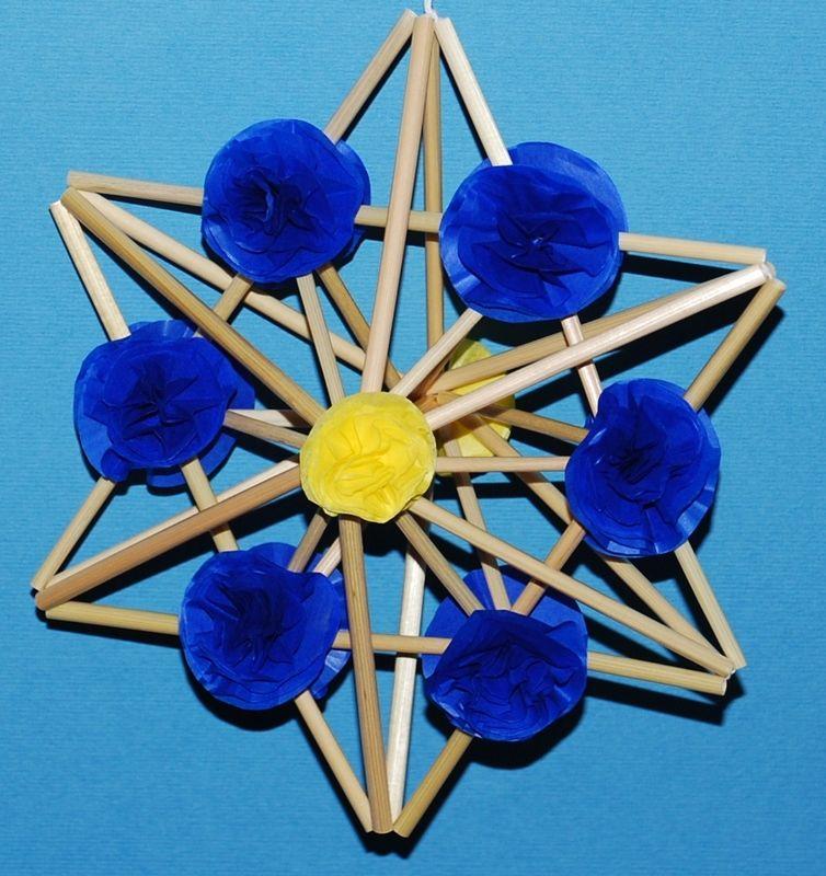 Gwiazda Ze Slomy I Bibuly The Star Of Straw And Paper Folk Art Folk Art Crafts Art