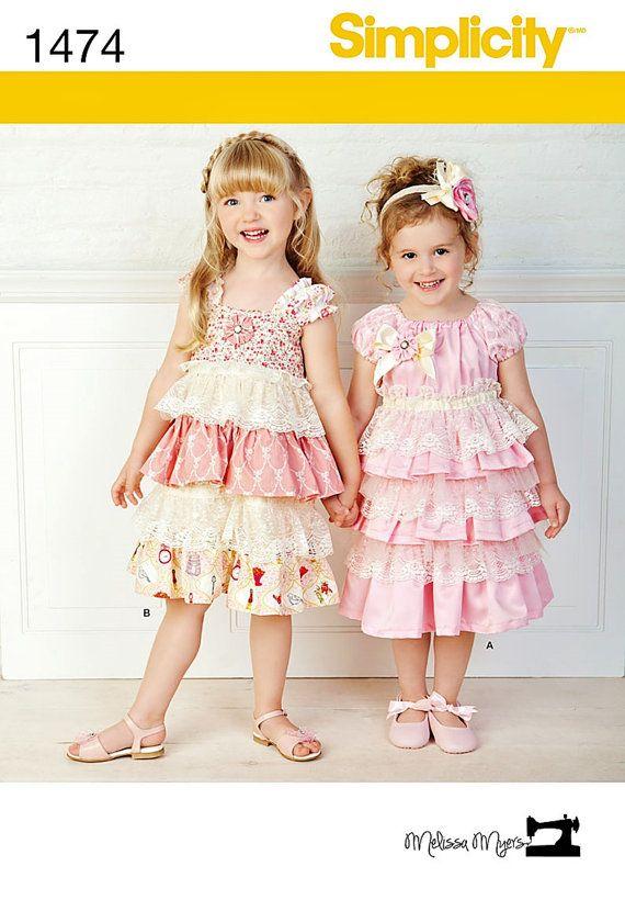 Little Girl Ruffle Dresses