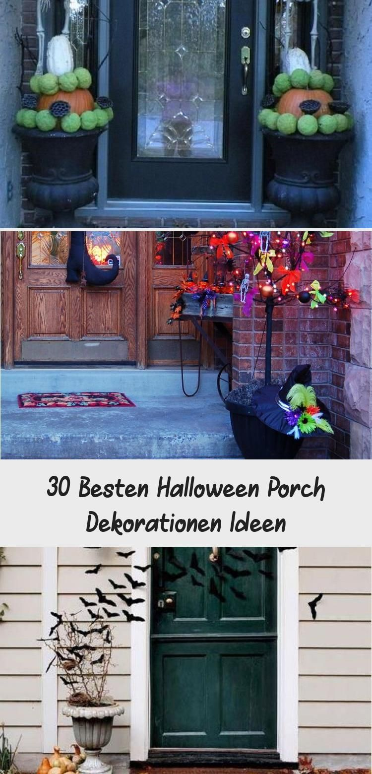 30 Besten Halloween Porch Dekorationen Ideen #weihnachtendekorationdraussengarten