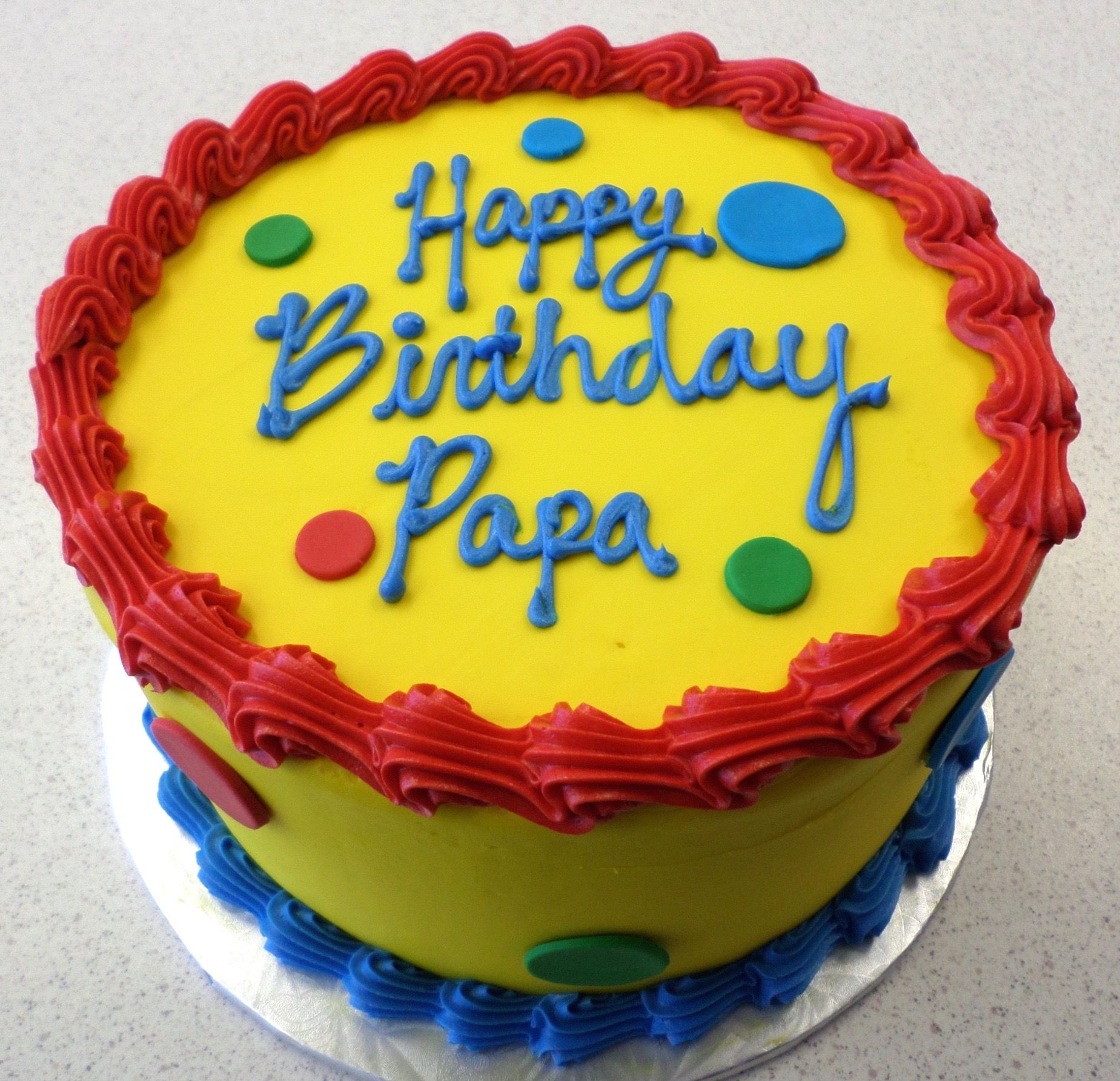 Happy Birthday Papa Cake Our Cakes Pinterest Happy birthday