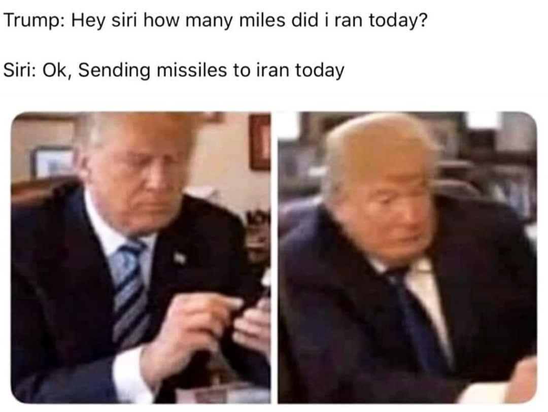Trump And His Escapades Beer Life Beerlife Iran Today Memes Run Today