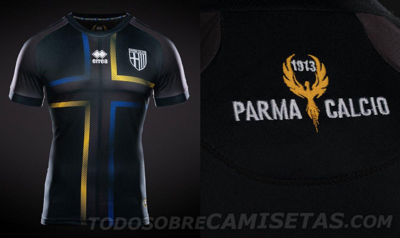 a4844f1f808c0 Serie A 2018-19 Kits - Parma Calcio third | Diseños camisetas ...