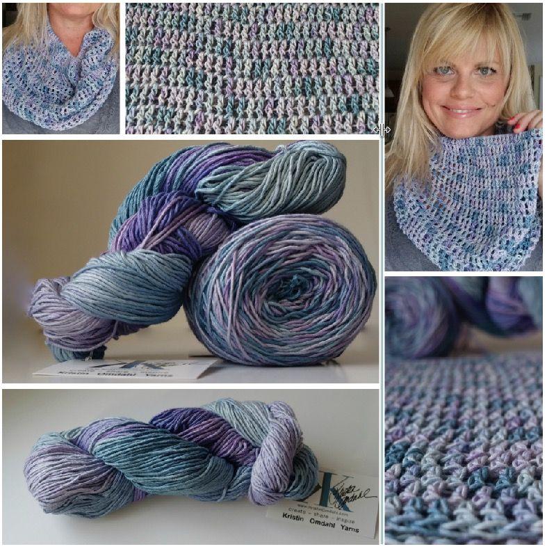 Oct 21 Simply Bold Crochet Cowl FREE Pattern | Ganchillo