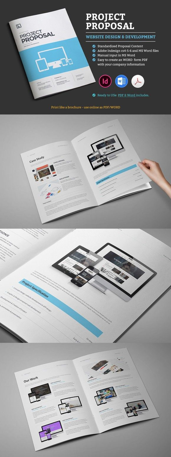 Web Proposal Template  Stationery Templates