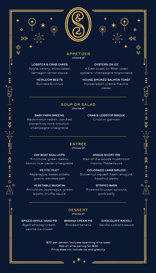 new year s menu