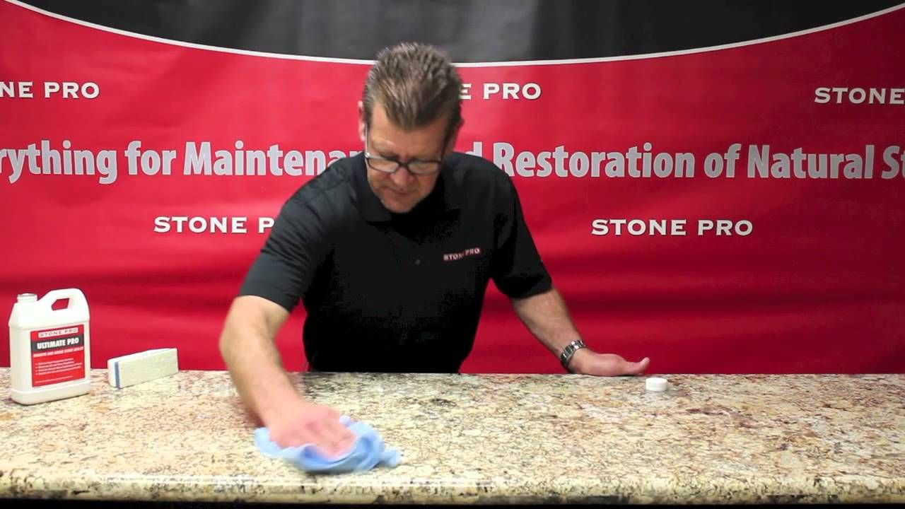 How To Seal Granite Countertops With Ultimate Pro Sealer