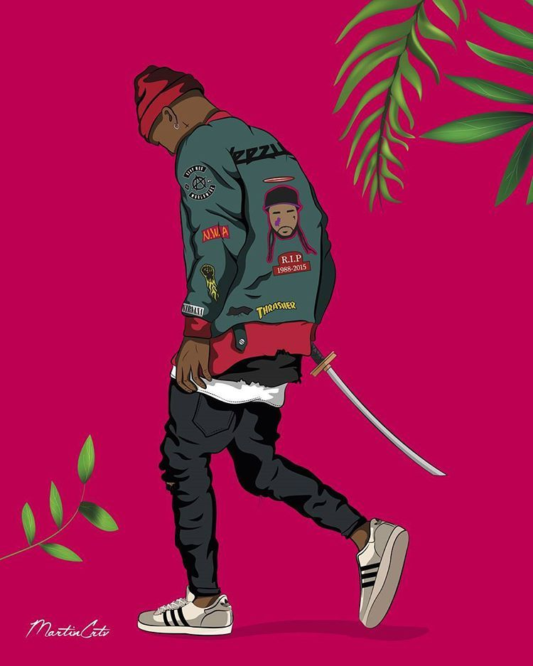 Pin By Evan Lindqvist On Urban Samurai Swag Cartoon Swag