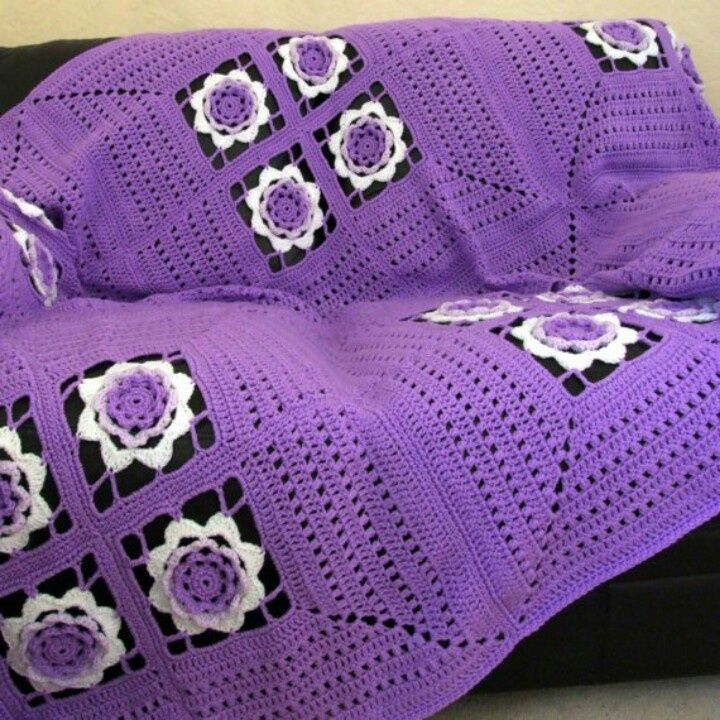 Crochet Pattern - Irish Rose Afghan - PDF | Beautiful, Irisch und ...
