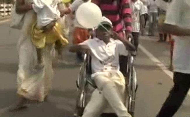 Thousands Of Differently Abled March In Kerala Demand Inclusive