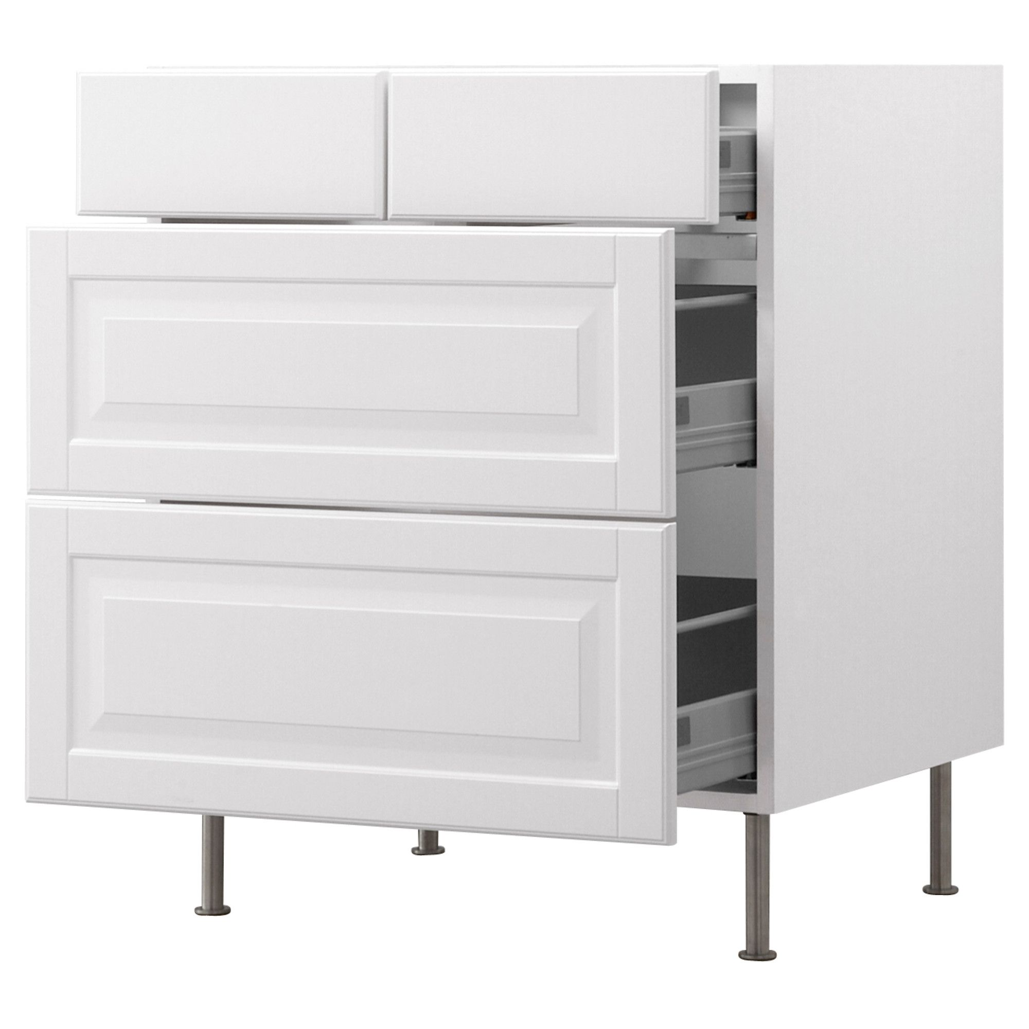 For kitchen and laundry room: but in Lidingo (AKURUM Base cabinet ...
