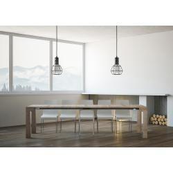 Photo of Moderne Konsole ausziehbar aus Melaminholz made in Italy, Anagni Viadurini Collezione livingViadurin