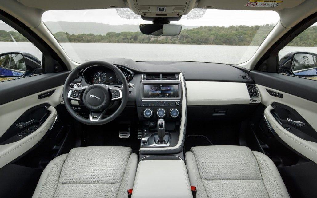 2019 Jaguar E Pace New Concept More Device Inside Jaguar E