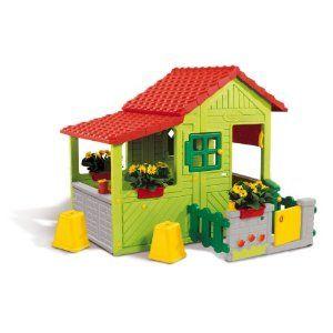 Smoby Floralie Plastic Playhouse | BaileyGrace | Pinterest