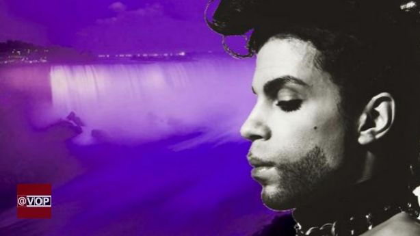 Niagara Falls Is Turning Purple For Prince  No No..