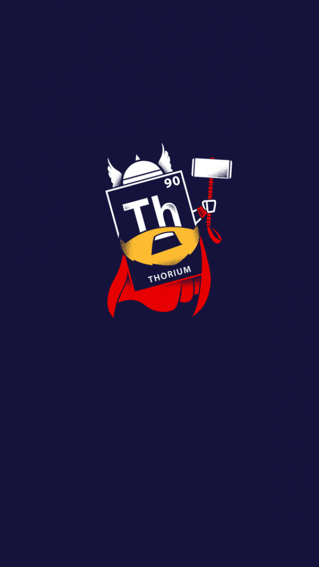 Tap image for more funny minion iPhone wallpaper! Thorium - @mobile9   Wallpapers for iPhone 5 ...