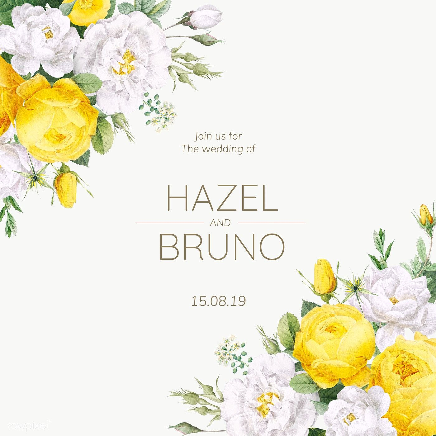 Download Premium Png Of Blooming Wedding Invitation Card Transparent Png In 2020 Floral Wedding Invitation Card Wedding Invitation Cards Wedding Invitation Design