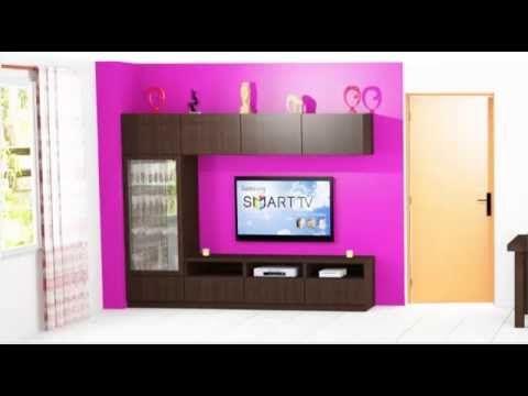 como hacer un mueble para la sala de estar - YouTube | MADERA ...