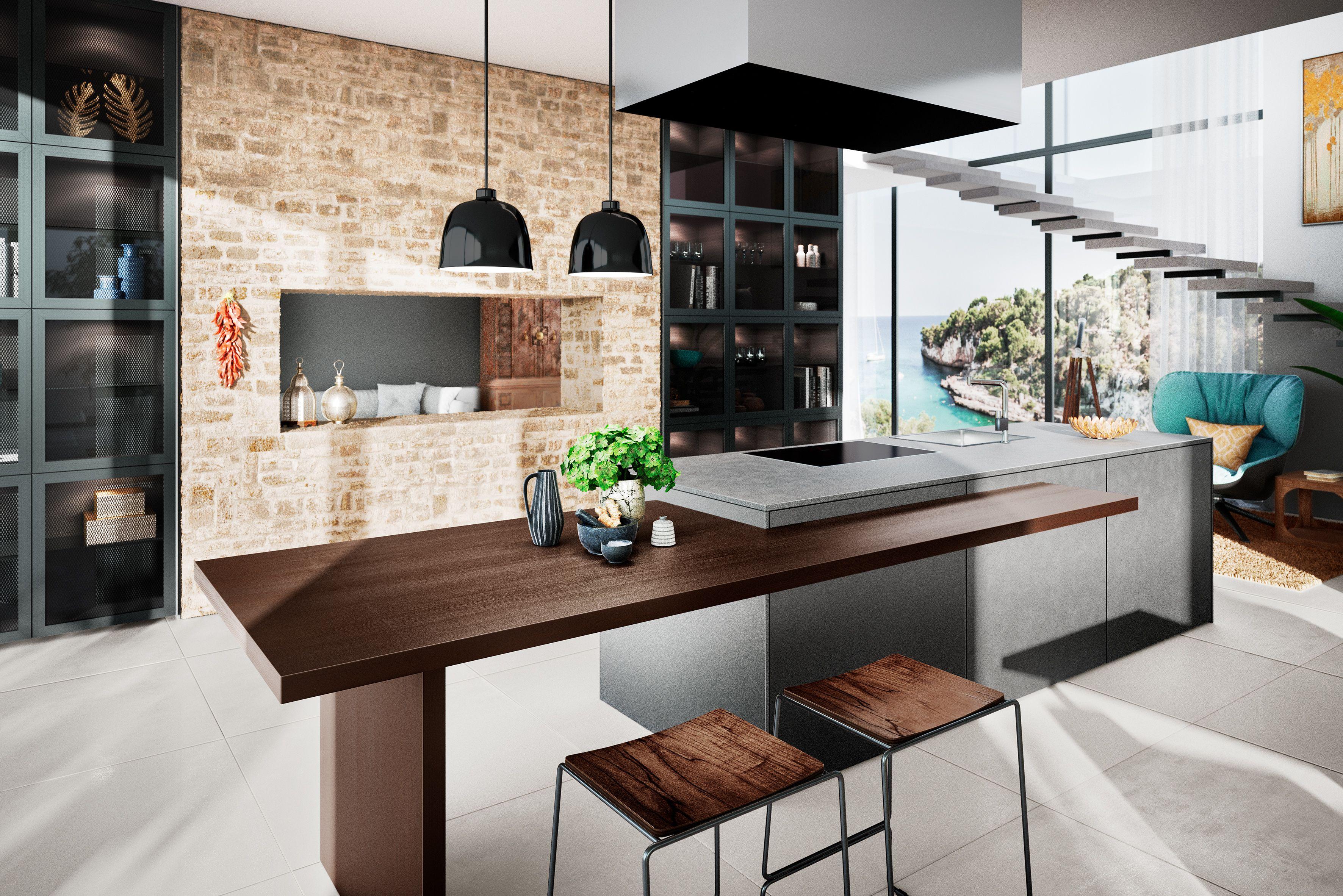 AV 8000 GL Iron Grey #häckerküchen #häcker #küchen #mediterran  #mediterranean