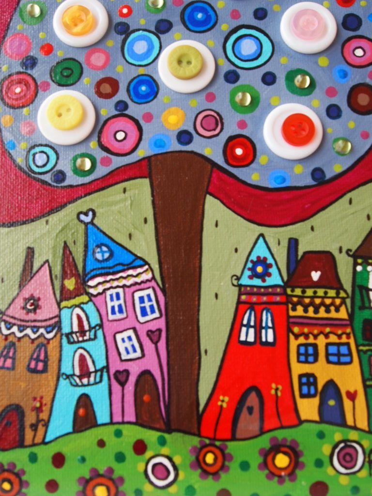 haz un recorrido por mi pintura naiflleno de colordeja volar tu imaginacin