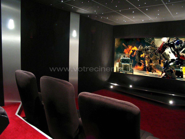 21 m2 pour réaliser votre salle de Home Cinéma de… | Idées ...