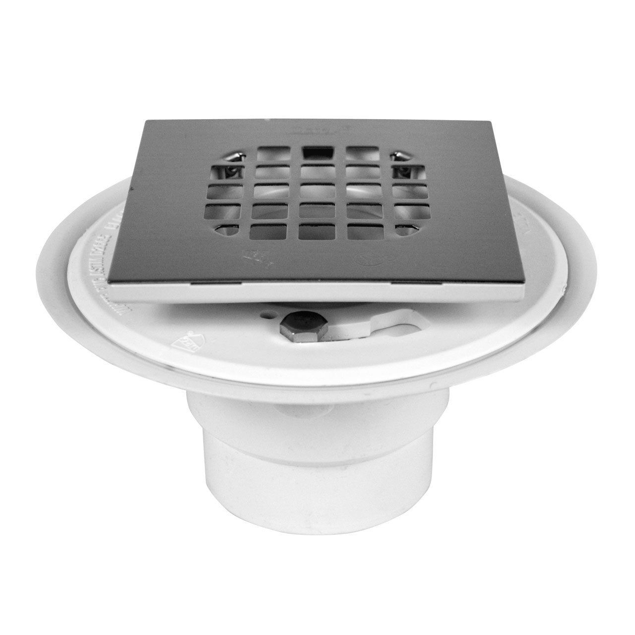 Amazon Com Oatey 42398 Pvc Shower Drain With Square Rubbed Bronze