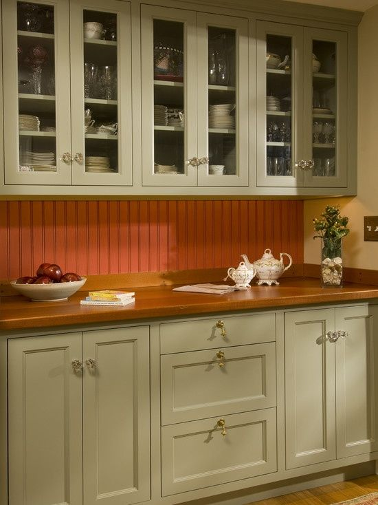 Spaces Painted Beadboard Design Pictures Remodel Decor And