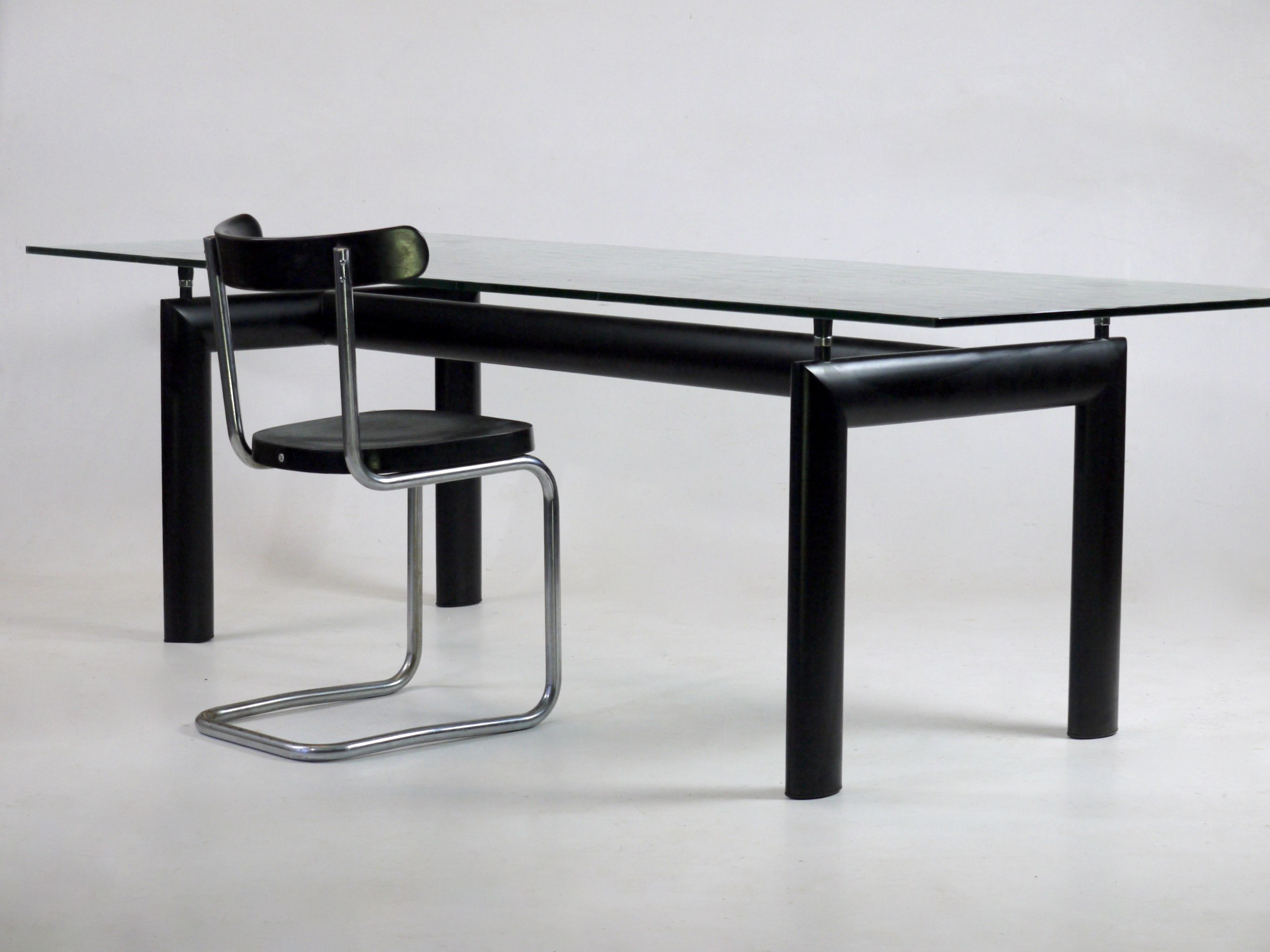 Le Corbusier LC6 Table 1928 Design. Later Manufactured By Cassina.  Available At Merzbau.