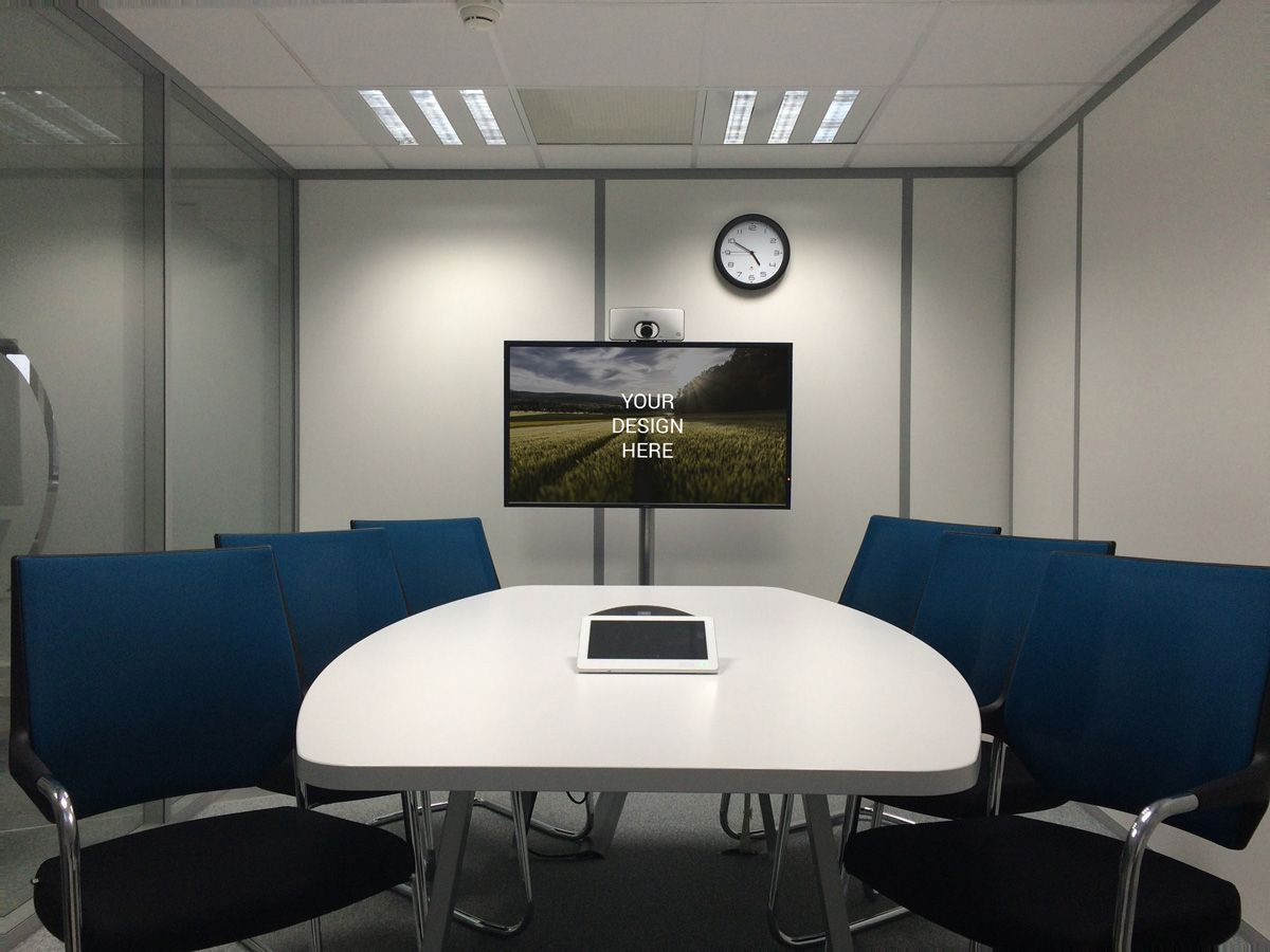 Meeting Room Television Mockup With Images Meeting Room Video