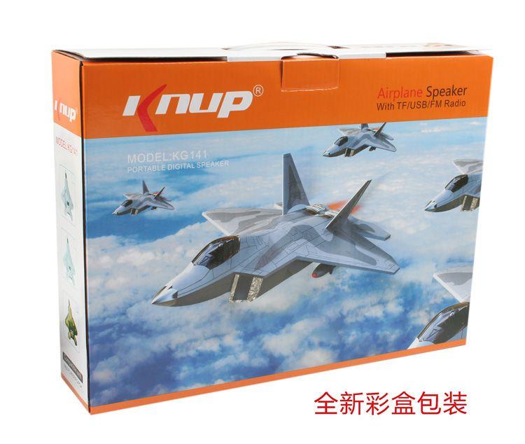 "Knup"" Airplane Speaker with TF/USB/FM Radio , STOCK 3000PCS ON SALE"