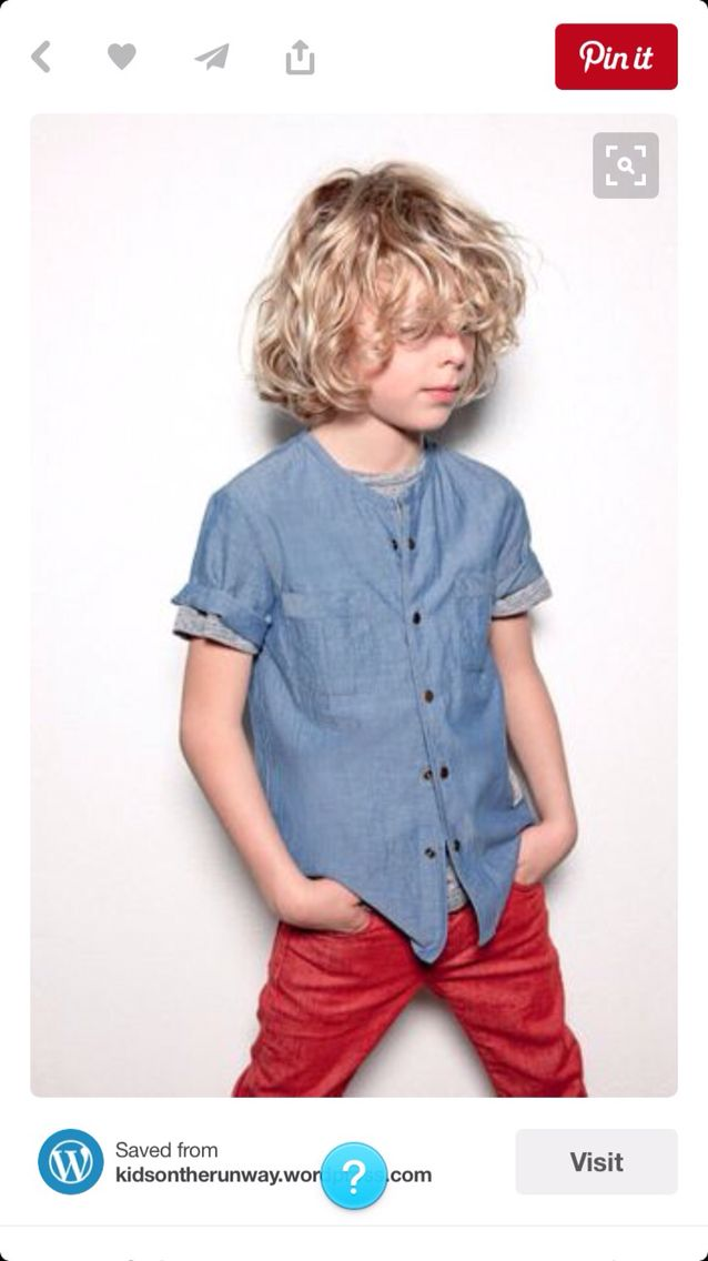 Love Boys With Long Curly Hair Would Work Fab With This Shoot Curly Hair Baby Boy Toddler Boy Fashion Boys Haircuts
