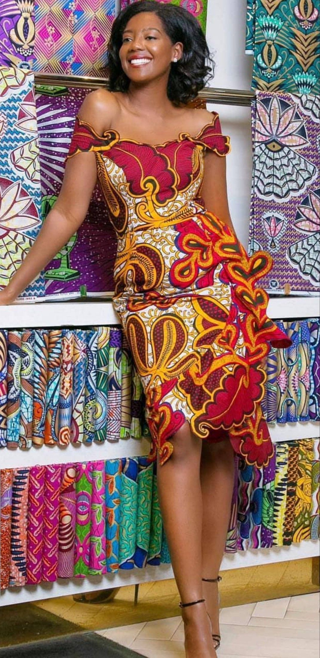 e1d7e21cbc7e21 Épinglé par aminata ndao sur wax tendance en 2019 | Robe africaine ...