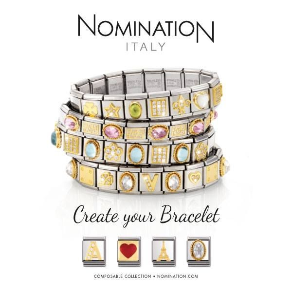 Create your own Nomination Italy bracelet with us!  http://www.burnsjewellersgroup.com/nomination-m71?sort=7#page1