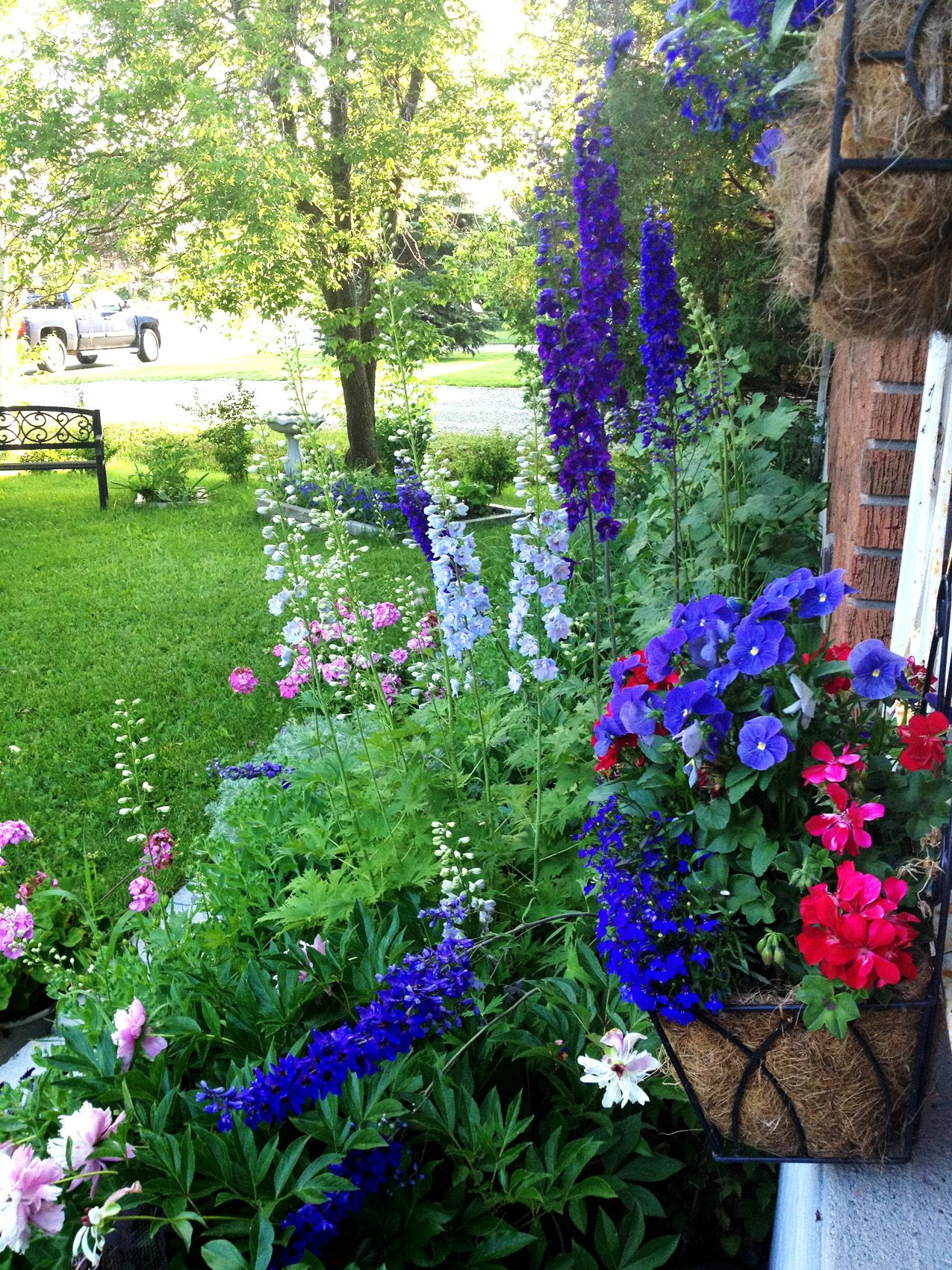 Cottage Style Garden In Porcupine, Ontario, Canada