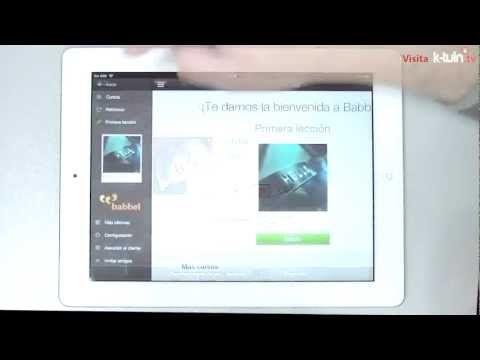 App Ipad Babbel Aprende Idiomas Comodamente Ipad Iphone